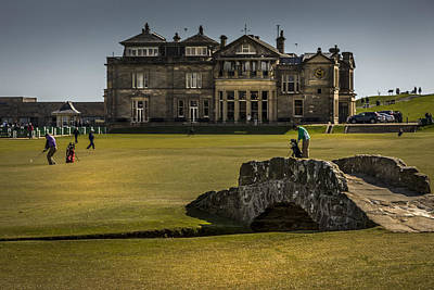 Photograph - Wall Pictures Royal And Ancient Golf Club by Alex Saunders