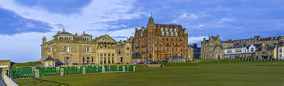 Sports Photograph - Royal And Ancient Golf Club St Andrews by Alex Saunders
