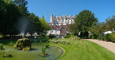 Cher Photograph - Royal Apartments, Loches by Panoramic Images
