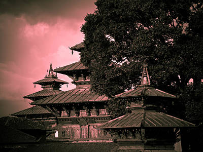 Red Roof Photograph - Royal Palace by Nila Newsom