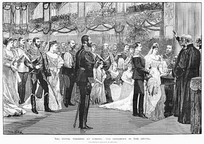 Royal Wedding, 1894 Print by Granger