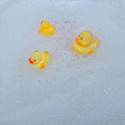 Rubber Ducks Print by Joana Kruse