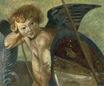 Ruben's Angel Print by Shelley Irish