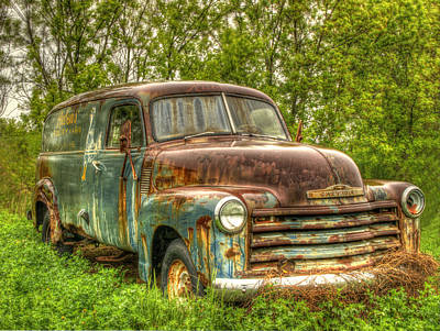 Old Trucks Photograph - Rubens Good Chicks 3 by Thomas Young