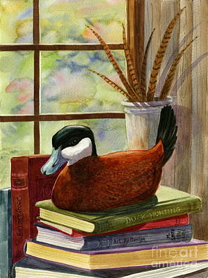 Ruddy Duck Decoy Original by Marilyn Smith