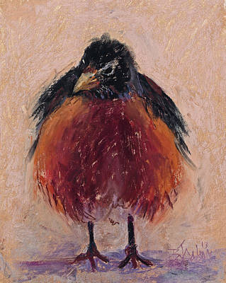 Ruffled Feathers Original by Billie Colson