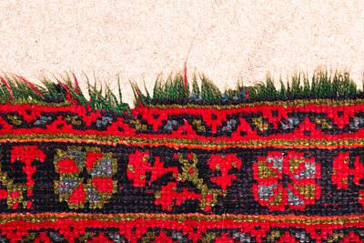 Rug Pattern Print by Tom Gowanlock