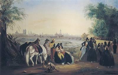 Caballero Photograph - Rugendas, Johann Moritz 1802-1858 by Everett