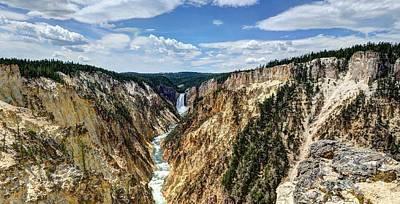 Rugged Lower Yellowstone Print by John Kelly