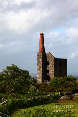 Bodmin Photograph - Ruined Tin Mine On Bodmin Moor by James Brunker