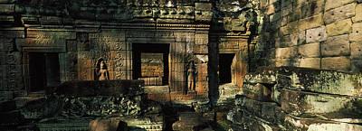 Khan Photograph - Ruins Of A Temple, Preah Khan, Angkor by Panoramic Images
