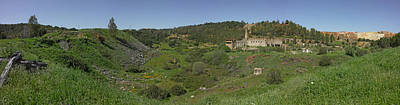 Andalusia Photograph - Ruins Of Buildings And Mining Effects by Panoramic Images