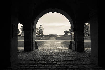 Ruins Of River Fort Designed By Vauban Print by Panoramic Images