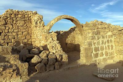 Ruins Of Shivta Print by Nir Ben-Yosef