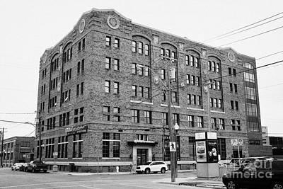 Rumely Building Saskatoon Saskatchewan Canada Print by Joe Fox