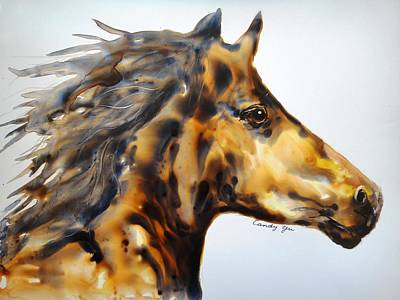 Running Horse Original by Candy Yu