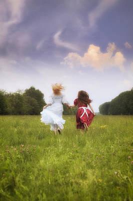 Frock Photograph - Running by Joana Kruse