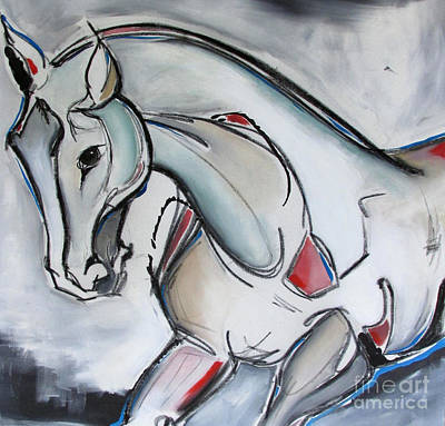 Running Wild Print by Nicole Gaitan