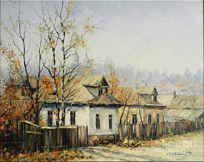 Rural Autumn Print by Petrica Sincu
