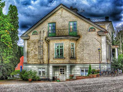 Sweden Digital Art - Rural Hotel In Sweden by Yury Malkov
