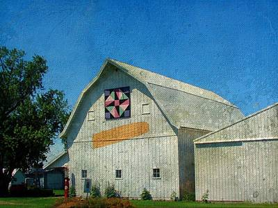 Rural Iowa Barn Print by Cassie Peters