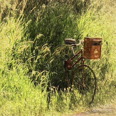 Mail Box Photograph - Rural Mailbox by Jean OKeeffe Macro Abundance Art