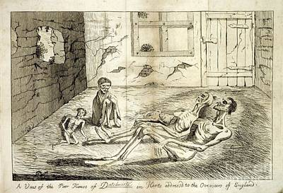 Rural Poverty And Starvation, 1760s Print by British Library