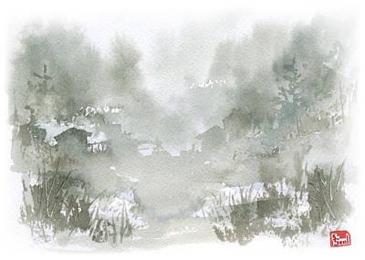 Rural Valley Print by Sean Seal