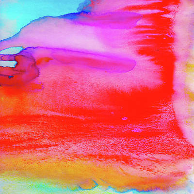 Rush Print by Amy Sia