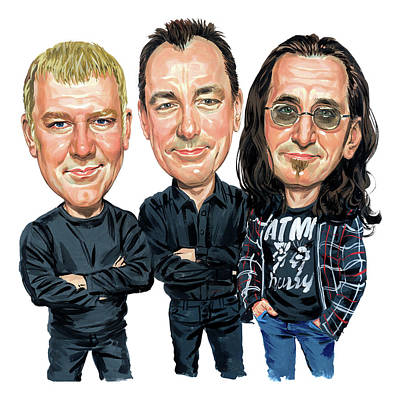 Rush Print by Art