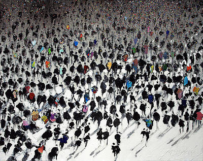 Painted Painting - Rush Hour by Neil McBride