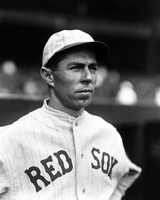 Red Sox Photograph - Russell M. Russ Scarritt by Retro Images Archive