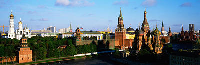 Onion Domes Photograph - Russia, Moscow, Red Square by Panoramic Images