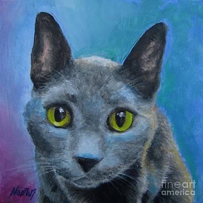 Russian Blue Original by Jindra Noewi