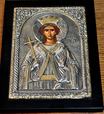 Russian Icon Photograph - Russian Byzantin Icon by Jay Milo
