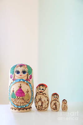 Doll Photograph - Russian Dolls by Evelina Kremsdorf