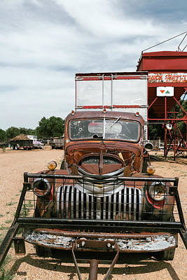 Antique Automobile Photograph - Rusted Abandoned Antique Truck by Julien Mcroberts