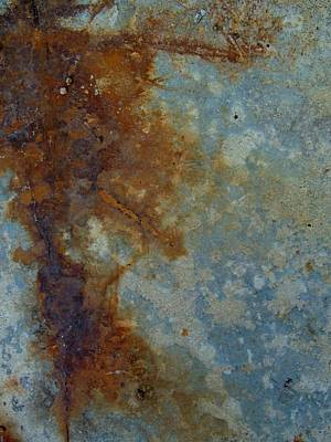 Rusted Abstract 1 Print by Denise Clark