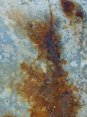 Rusted Abstraction 2 Print by Denise Clark
