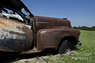 Classic Photograph - Rusted by Hilton Barlow