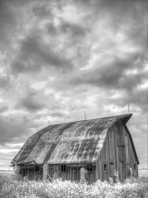 Rustic Barn Print by Jane Linders