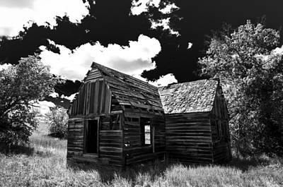 Rustic Barn Print by Scott McGuire