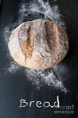 Rustic Bread Print by Viktor Pravdica