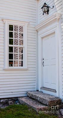Bailey Island Photograph - Rustic Doorway by Scott Thorp