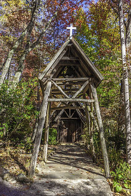 Photograph - Rustic Entry To The Sanctuary by Karen Stephenson