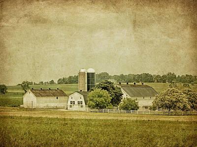 Rustic Farm - Barn Print by Kim Hojnacki
