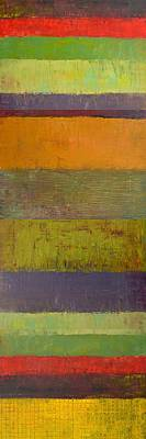 Restaurant Painting - Rustic Layers 4.0 by Michelle Calkins