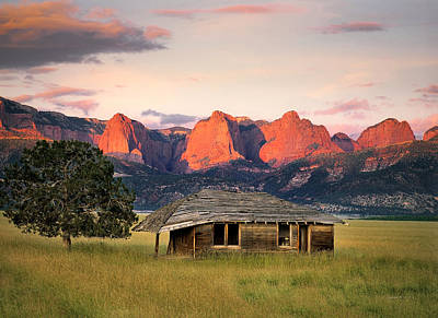 Barn Wood Photograph - Rustic Southwest by Leland D Howard