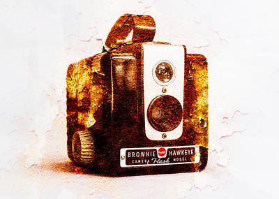 Hawkeye Photograph - Rusty Brownie by Jon Woodhams