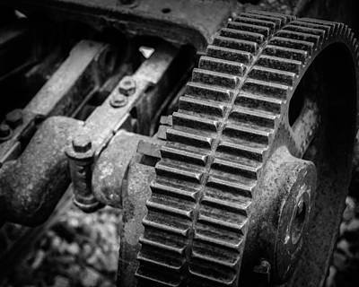 Rusty Coal Mining Equipment No. 2 - Roslyn - Washington - 2008 Print by Steve G Bisig